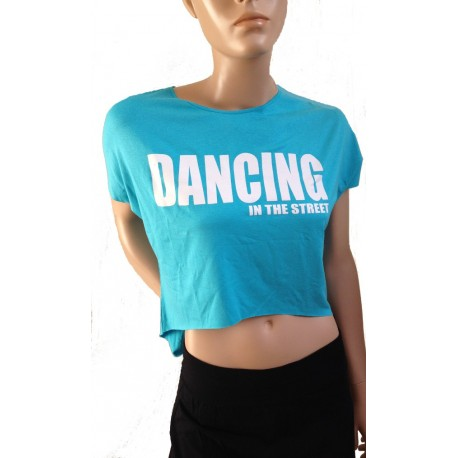 "T-shirt met print ""Dancing in the street"""